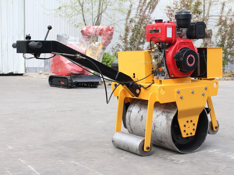 450手扶式单钢轮压路机
