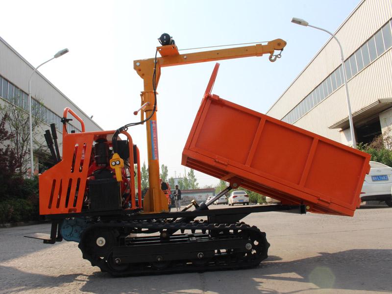 D210手扶式履带运输车