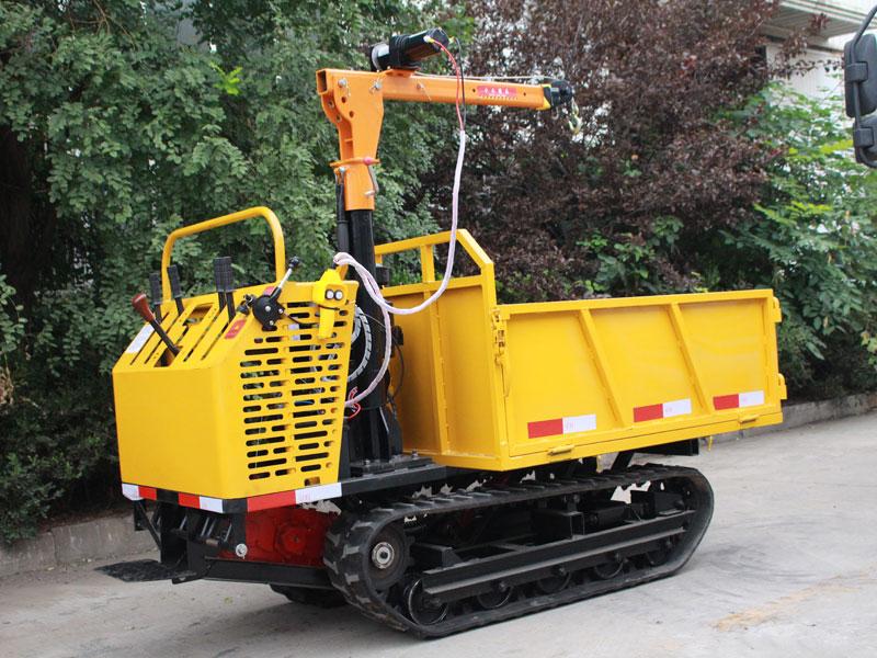 D215-1.5T手扶式履带运输车