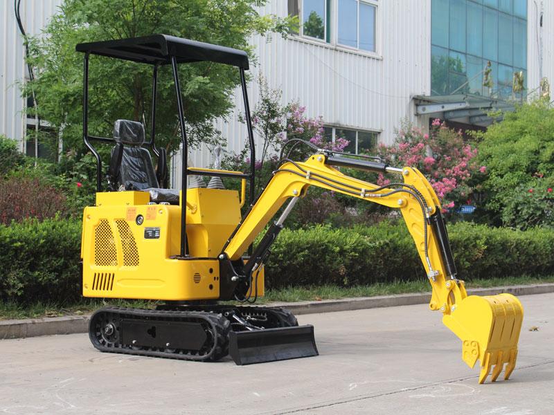 R322小型履带式挖掘机