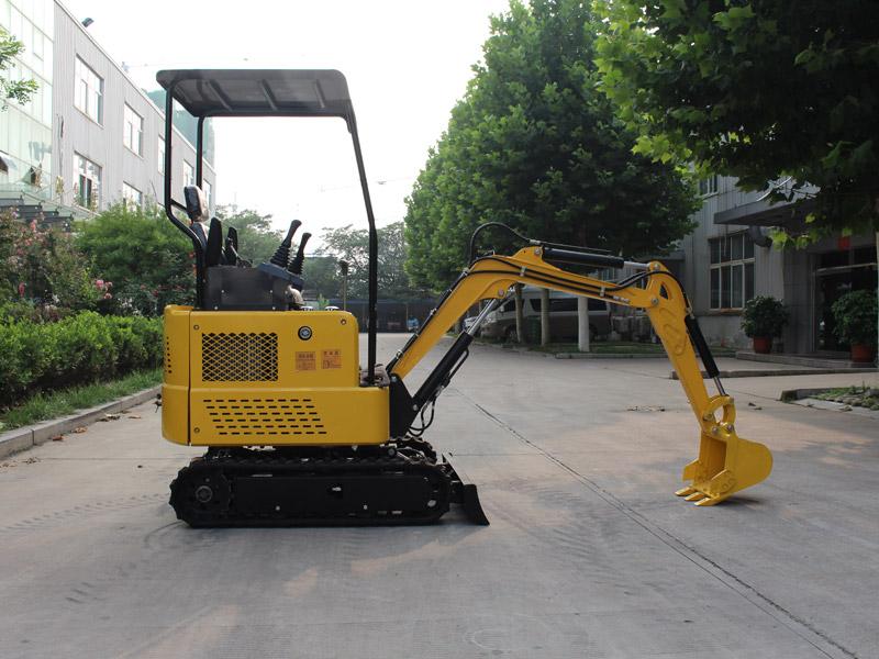R325小型履带挖掘机
