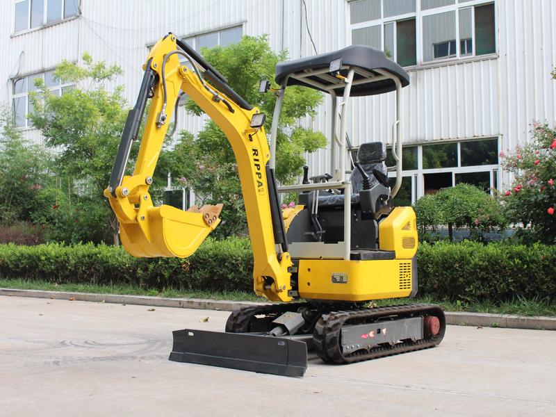 新款无尾R330履带式小型挖掘机