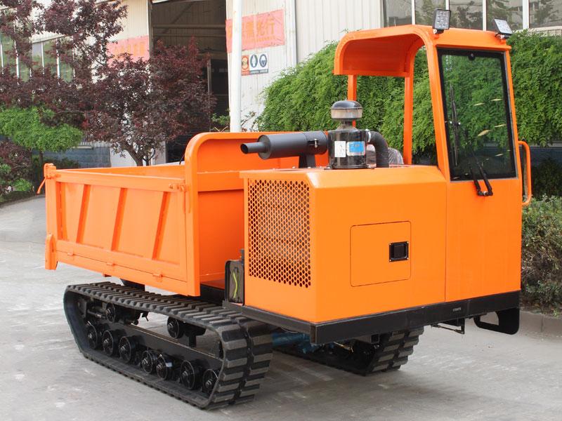 履带式爬山虎运输车离合器故障排除方法